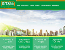 Tablet Preview of dtsan.com.br